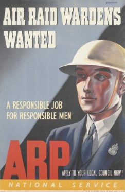 air_raid_wardens_wanted_-_arp_art-iwmpst13880