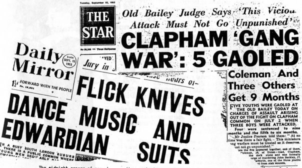 1953 Newspapers Clapham Common