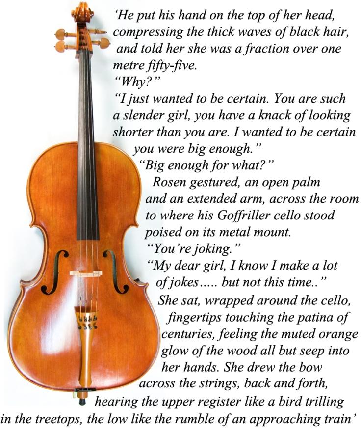 Cello graphic