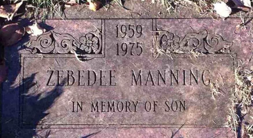 Manning grave
