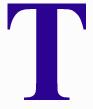T blue